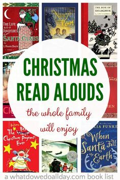Christmas chapter books to read aloud as a family. Get out the hot chocolate because these are books grown-ups will enjoy just as much as the kids! Christmas Books For Kids, Christmas Activities, Book Activities, Magical Christmas, Preschool Books, Preschool Christmas, Reading Resources, Beautiful Christmas, Reading Lists