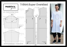 57 Trendy sewing clothes men how to make T Shirt Sewing Pattern, Mens Sewing Patterns, Sewing Men, Sewing Clothes, Clothing Patterns, Fashion Sewing, Mens Fashion, Costura Fashion, Crochet Baby Jacket