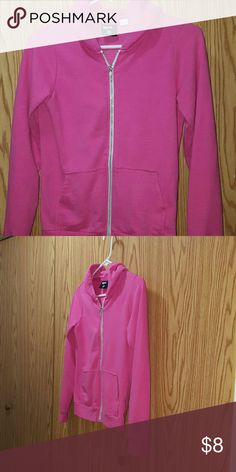 BDG Pink Zip up Hoodie Super cute Pink Hoodie by BDG Size Small  Good used condition Missing stringt BDG Tops Sweatshirts & Hoodies