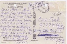 Jim Morrison's last letter? | TheDoors4Scorpywag 'Other Voices':DoorsTalk Forum