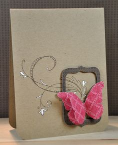 Cute, simple card by Kasia C. Made using up scraps! Fab! =)