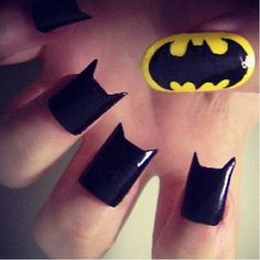 Batman nails are you serious!