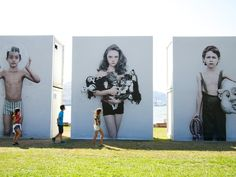 GETXOPHOTO 2012 / Sign System by IS Creative Studio. , via Behance