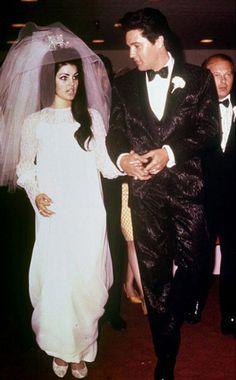 Elvis and Priscila Presley