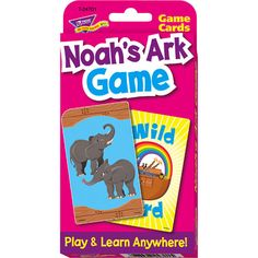 Noahs Ark Game Challenge Cards Travel Game