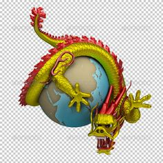 Chinese Dragon Around the Globe