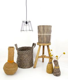 African baskets - contemporary - from Namibia and South Africa. By Design Afrika. http://www.designafrika.co.za/