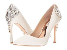 Badgley Mischka Bridal Shoes High Heels Ideas For 2019 Sparkly Wedding Shoes, Wedding Boots, Wedding Heels, Wedding Shoes Louboutin, Winter Wedding Shoes, Bridal Heels, Spring Wedding, Dream Wedding, Maggie Sottero
