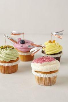 cute cupcake tassels