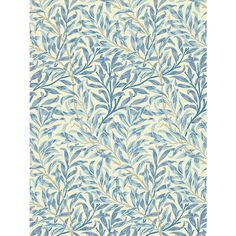 Buy Morris & Co Willow Boughs Wallpaper, Blue, DMCW210491 Online at johnlewis.com