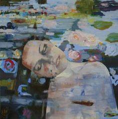 "Saatchi Art Artist Patrick Delaunay; Painting, ""OPHELIA"" #art"