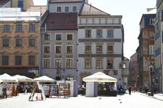 Warsaw: Old Town Market Square (Rynek Starego Miasta) Warsaw, Old Town, Squares, Buildings, Street View, Marketing, Old City, Bobs