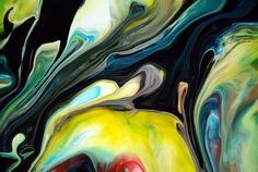 Fluid Art | Abstract Fluid Painting 94 - Item No: 2312