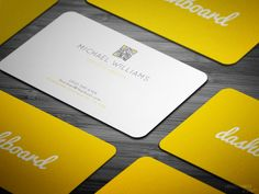 Summer Dreams Business Card by LA_WDGD on Creative Market