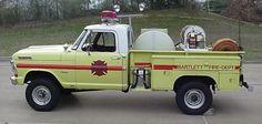 Bartlett Fire Department (TN)  Brush Truck 4 1971 Ford F-250 4X4  http://setcomcorp.com/twin-talk-fire-wireless-headset.html