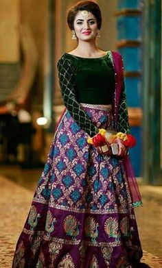About this dress every girl know this is the latest trend of crop top and skirt. Pakistani Formal Dresses, Pakistani Wedding Outfits, Wedding Dresses For Girls, Party Wear Dresses, Indian Dresses, Indian Outfits, Bridal Dresses, Stylish Dresses, Nice Dresses