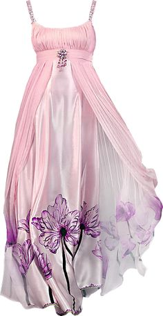 I found 'Womans Empire Waist Pink Floral Gown Satin Fairy Dress' on Wish, check it out!