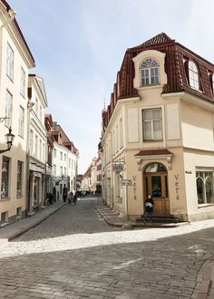 The Candy Colored Streets of Tallinn