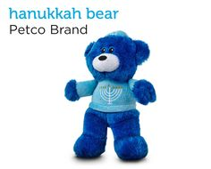 Hanukkah Bear Dog Toy from Petco's Holiday Gift Guide