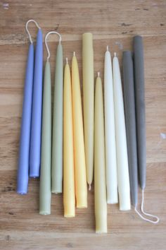 "These are the exact candles that Martha Stewart & Barefoot Contessa use - the very best.    Hand Dipped Taper Candles - 12"" (Set of 2) - Everyday Occasions"