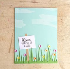 Lindsey @ Occasional Crafting: 12 Kits of Occasions - March Bloom Where You Are Planted, March 12th, Crafting, Kit, Tags, Frame, Inspiration, Picture Frame, Biblical Inspiration