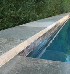 Dalle de France Marly Limestone, Pool Coping