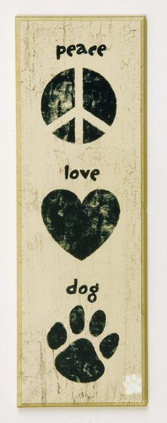 Peace-Love-Dog FUTURE TATTOO <<3