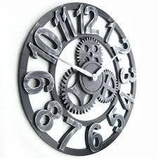 Handmade 3D decorative large retro rustic art vintage big wall clock large  #Clock #Decorative #Handmade #Large #Retro #Rustic #RusticWallClock #Vintage #Wall The Rustic Clock