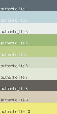 Caparol Colour Trend - Authentic Life Farbkonzept wirkt luftig, leicht und frisch