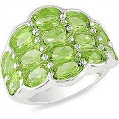 #jewelry #giftideas #Fashionnews #Womensfashion #Womensstyle #Fashion #Accessories #Gifts Diamondx.com Sterling Silver Peridot Fashion Ring Amazing Style Designed in France Free Shipping and 15% OFF