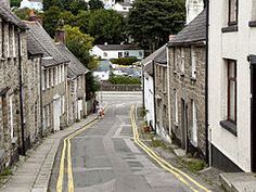 St Gluvias Street Devon And Cornwall, Yellow Houses, Falmouth, South Pacific, Pictures Images, Genealogy, Wales, Beautiful Places, Saints