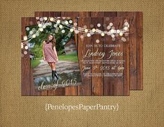 SALE: Use Coupon Code 2015GRAD and save 20% on any Graduation order of $48.00 and up through March 31, 2015. Penelopes PaperPantry is proud