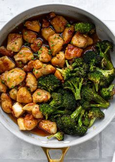 Apricot Chicken - Sticky Apricot Chicken with Roasted Broccoli