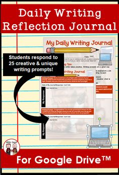 This distance learning resource will allow your students to write a daily journal for 25 days online using Google Drive. Each prompt is engaging and will not bore even your most challenging students. This is perfect for students in 3rd grade, 4th grade, 5th grade, and middle school. Upper Elementary Resources, School Resources, Teacher Resources, Teaching Strategies, Teaching Tips, Learning Activities, Creative Writing Prompts, Writing Ideas, Middle School Grades