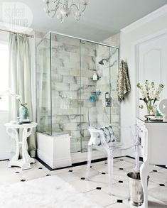 20 beautiful bathrooms style at home, classic contemporary bathroom Bathroom Design Inspiration, Interior Inspiration, Contemporary Classic, Modern Classic, Classic White, Best Kitchen Design, Architecture Design, Contemporary Bathrooms, Modern Bathroom