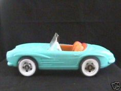 My Barbie car.