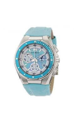 TechnoMarine Blue Mother of Pearl dial, Chrono, 40mm