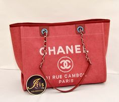 กระเป๋า Chanel Deauville Tote Bag (GST Cavas) ของใหม่พร้อมส่งค่ะ!! - Iris Shop