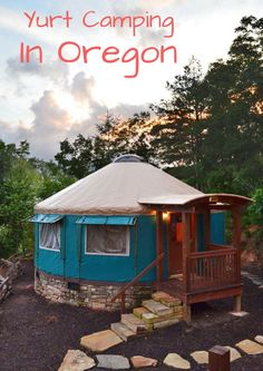 Try the ultimate Oregon camping experience...in a yurt!