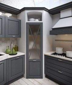 39 Astonishing Small Kitchen Design Ideas That Remodel Layout - #Astonishing #Design #Ideas #Kitchen #Layout #Remodel #Small