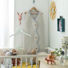 tricot pour bébé turbulette point mousse