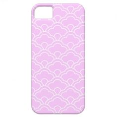 White Scalloped Phone Case iPhone 5 Covers