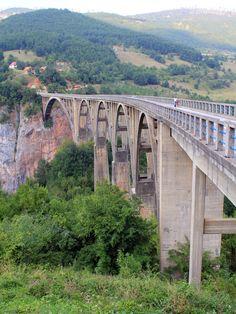 Tara River Bridge,  Montenegro