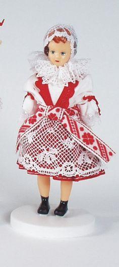 Panenky - 12 cm | Plzeň 12cm - nemrkací | Krojované panenky