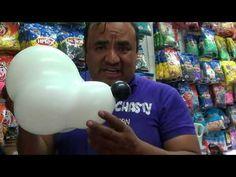 PAW PATROL CABEZA BOMBERO CON GLOBOS CHASTY - YouTube