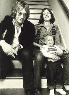 Warren, Crystal and Ariel Zevon, in 1978, from