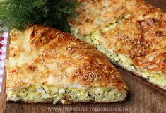 Placinta cu urda si marar - Bucataria Romaneasca Quiche, Recipies, Breakfast, Food, Pizza, Pie, Recipe, Cooking Food, Recipes