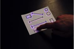Created a synth control panel by just drawing it on a piece of paper. Amazing.