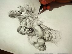 Yuri Boyka Sketch by leemarej on DeviantArt
