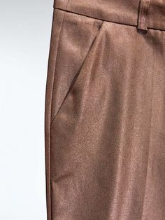 trousers in soft copper by GOLD LABEL, MOHITO